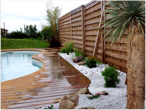 Bord de piscinegarden creart for Environnement piscine