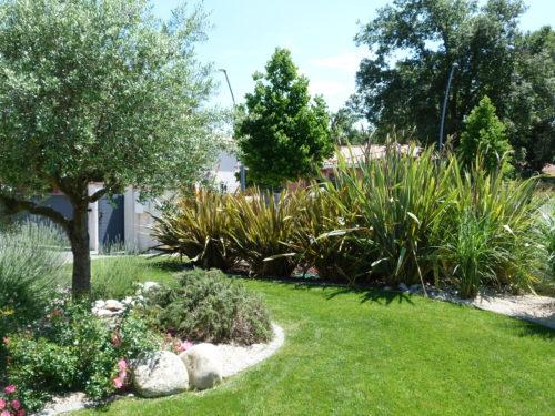 Jardin paysager.